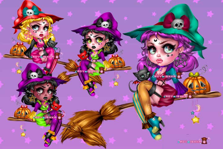 Freya Witch PSD/PNG