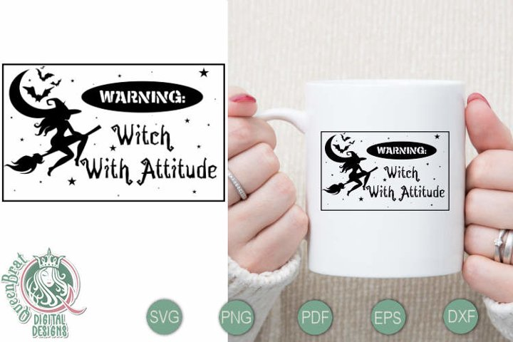 Witch With Attitude SVG