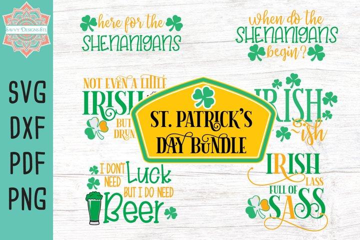 St. Patricks Day Cut File Bundle