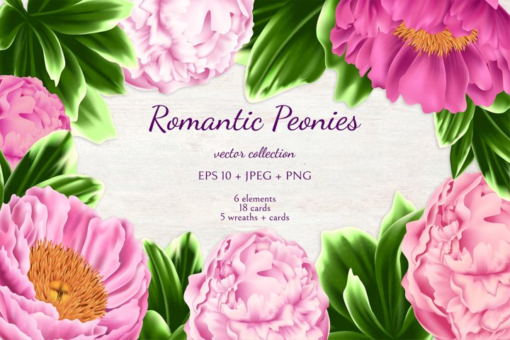 Romantic Peonies example