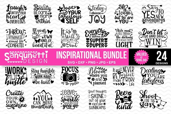 Inspirational and Motivational SVG bundle