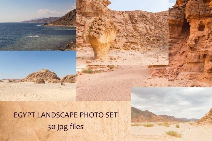 Egypt, the Sinai Peninsula, landscapes photo set.