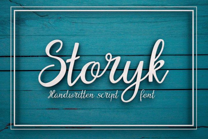 Storyk Font