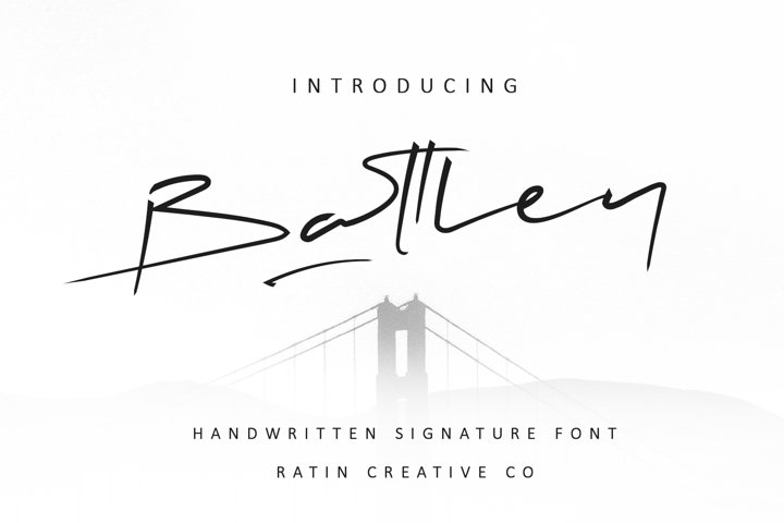 Battley Handwritten Signature