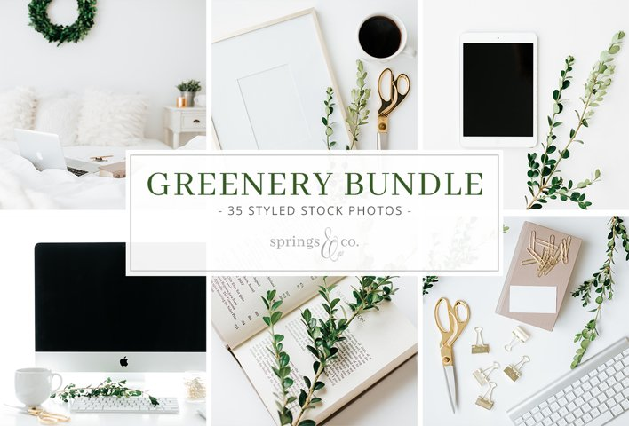 Greenery Styled Stock Photo Bundle