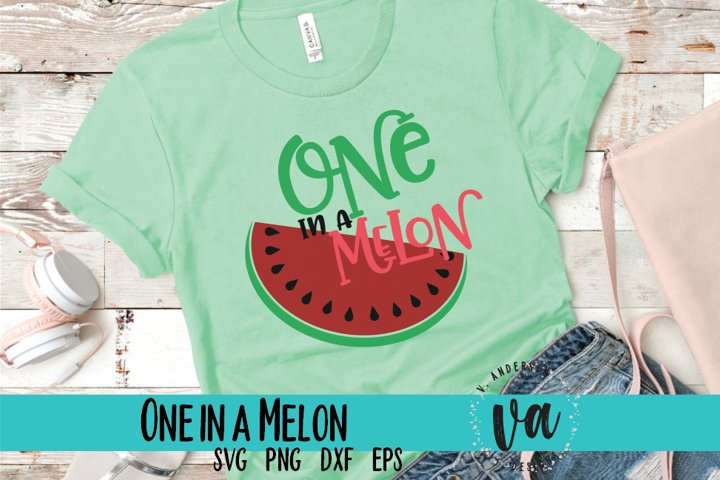 One in a Melon Summer SVG