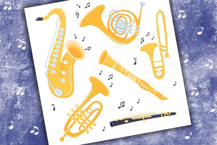 Musical Jazz instrument