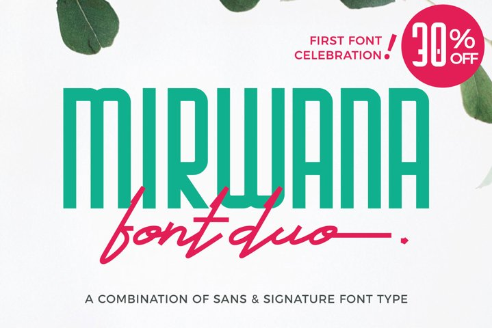 Mirwana Font Duo