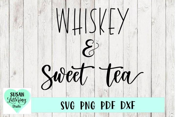 Whiskey & Sweet Tea SVG   Home, Kitchen Decor Design