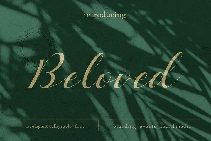 Beloved Typeface