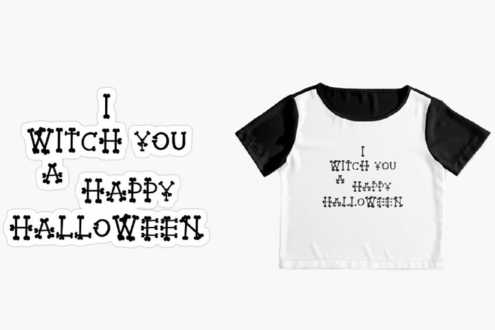 Sublimation designs I WITCH YOU A HAPPY HALLOWEEN