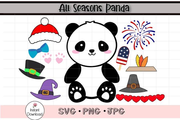 Panda SVG, Panda Clip Art