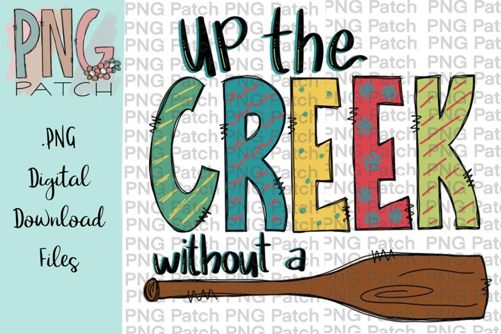 Up the Creek without a Paddle, Creek and Boat PNG File
