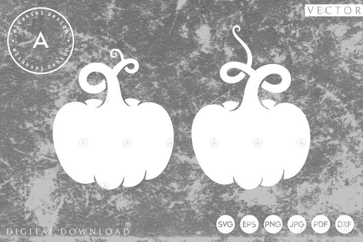 Abstract Pumpkins SVG | Paper Cutting