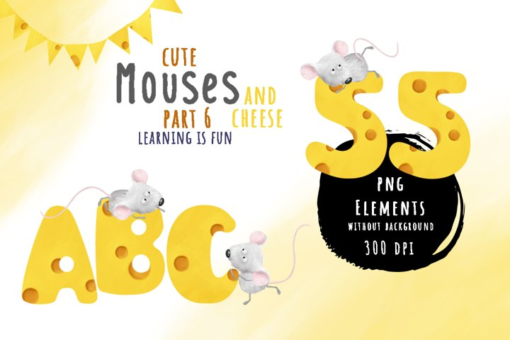Mouses and cheese. PART 6 Learn with us bundle