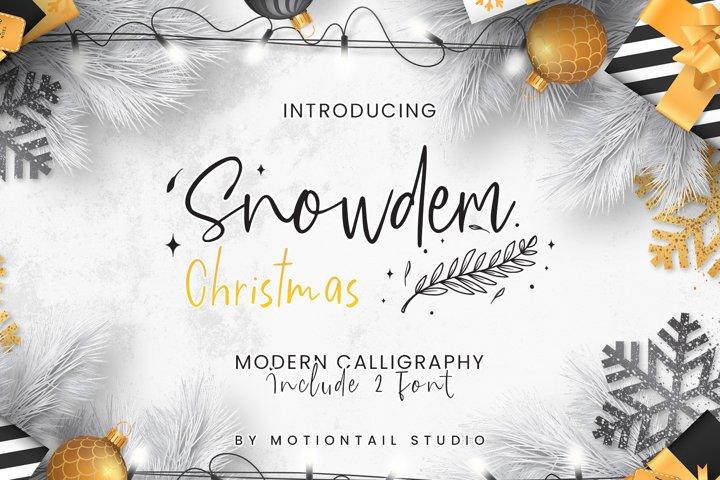 Snowdem Christmas