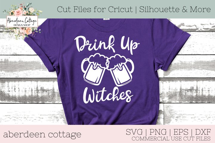 Drink Up Witches SVG