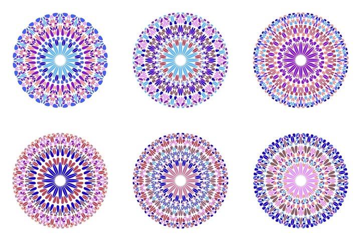 24 Floral Mandala Logo Templates example 4
