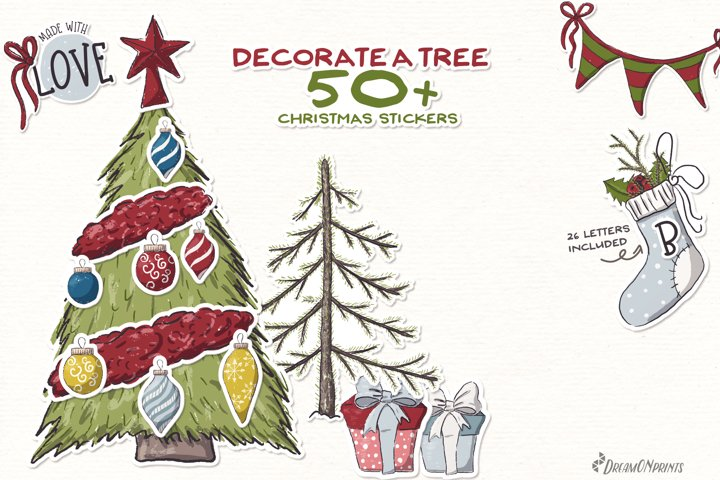 Christmas Stickers | Decorate