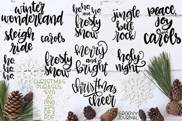 Christmas Word Art