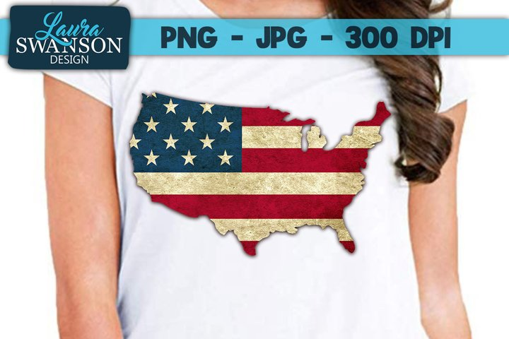 Patriotic United States PNG, JPG, Sublimation, PrintnCut