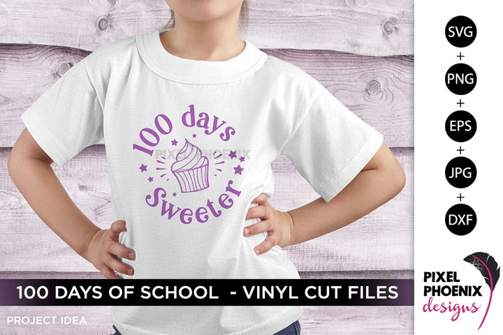 100 Days Sweeter, 100 Days of School
