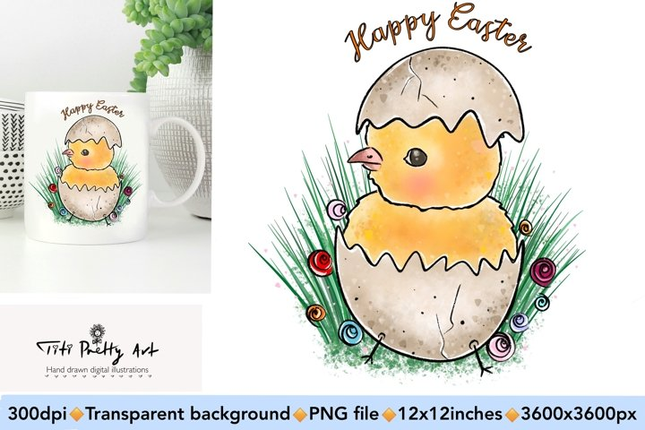 Happy Easter PNG, Easter Is Here Bundle