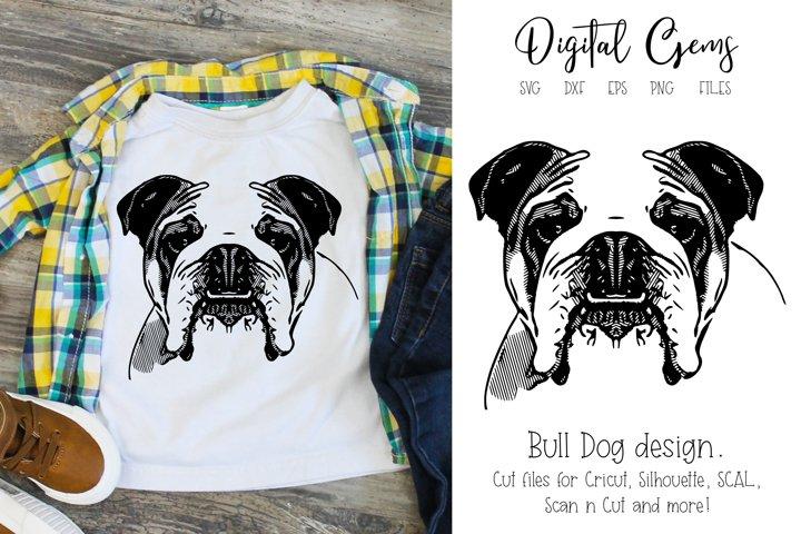 English Bull Dog SVG / EPS / DXF / PNG Files