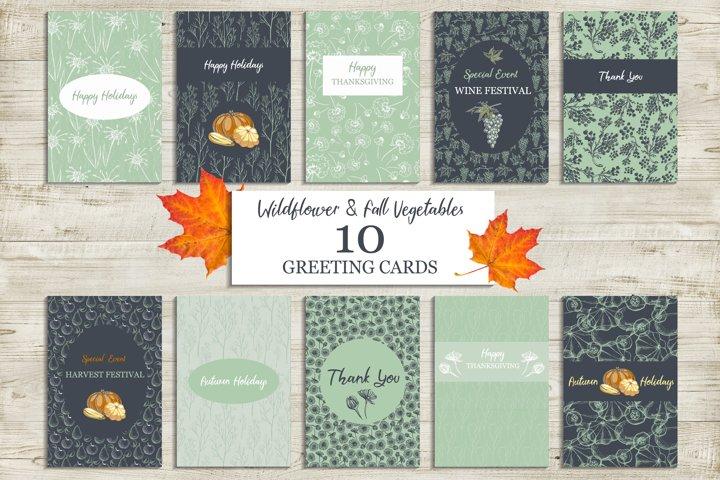 Fall Holidays Cards