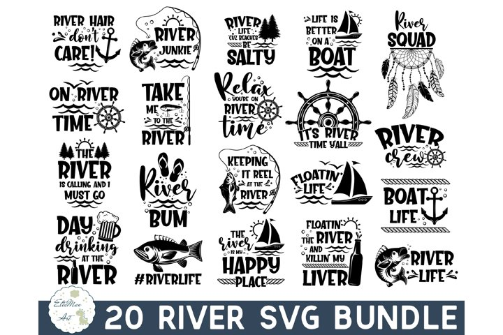 River SVG Bundle, River Quotes SVG, River Signs, Funny Quote