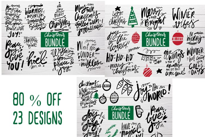 Christmas MEGA bundle SVG cut file