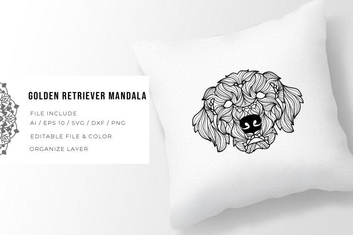 Golden Retriever | Mandala
