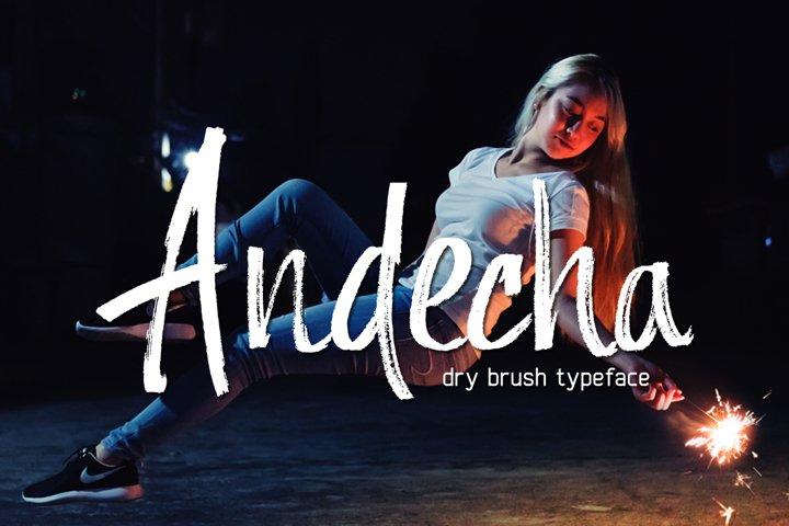 Andecha - dry brush