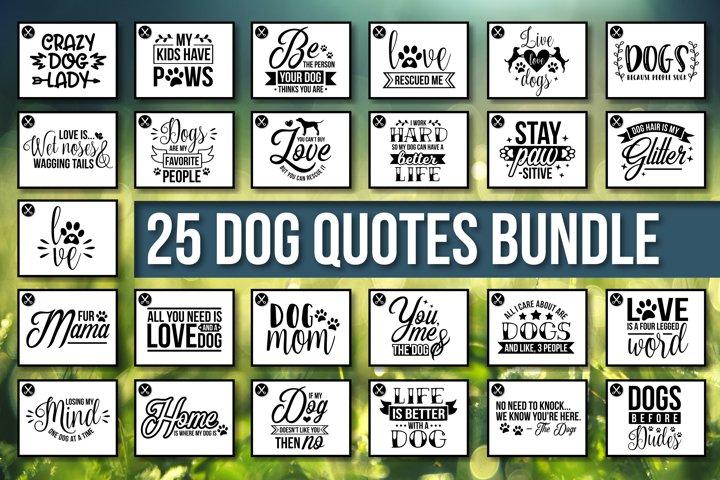 HUGE Dog Quotes SVG Bundle