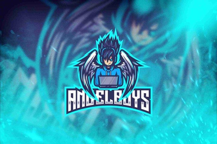Angel Boys Esport Logo Template