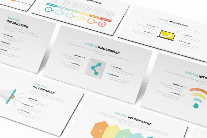 Digital Infographic Keynote Template