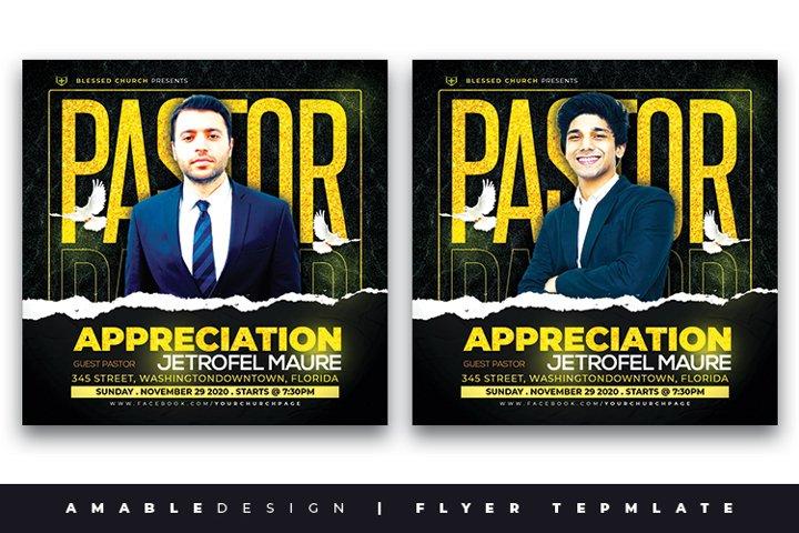 Pastors Appreciation Church Flyer