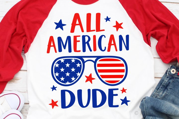 All American Dude SVG, DXF, PNG, EPS