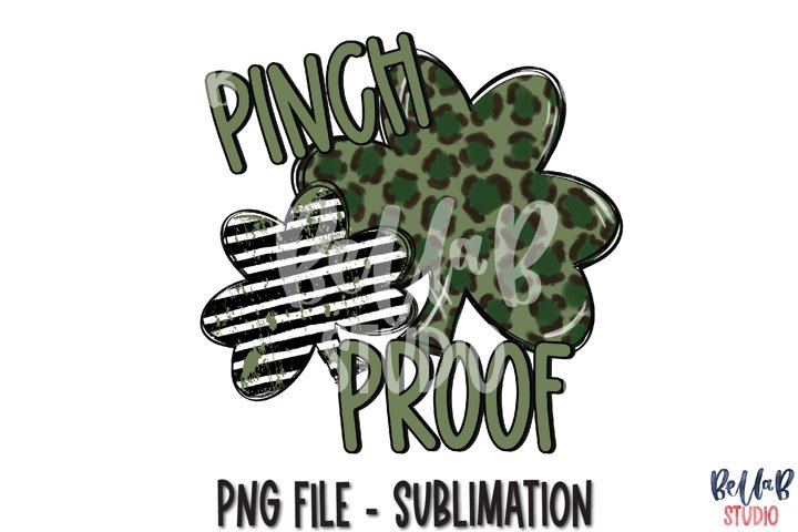 Pinch Proof St Patricks Day Sublimation PNG