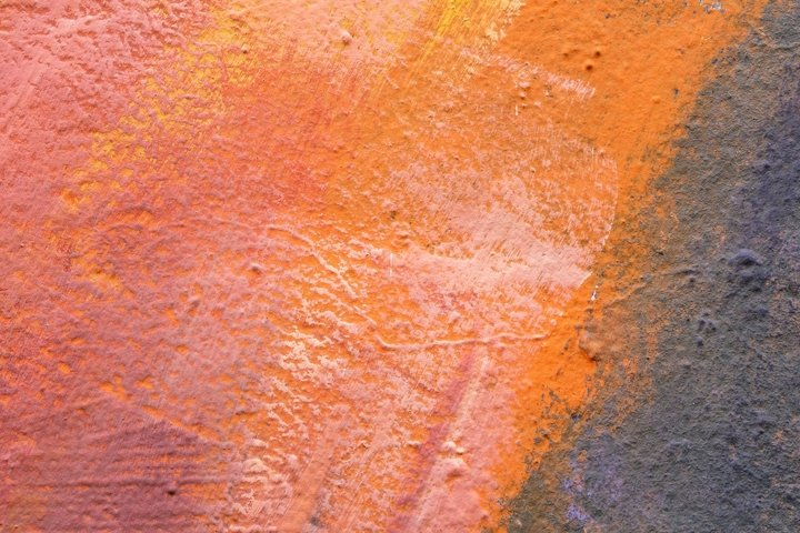 Abstract background in orange, red, white and gray colors