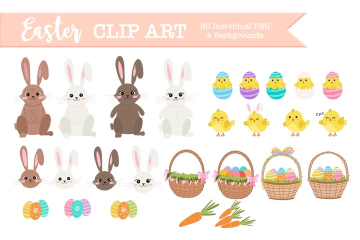 PNG Easter clipart, easter illustrations and graphics