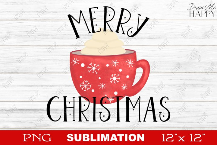 Christmas Sublimation, Merry Christmas Sublimation, PNG