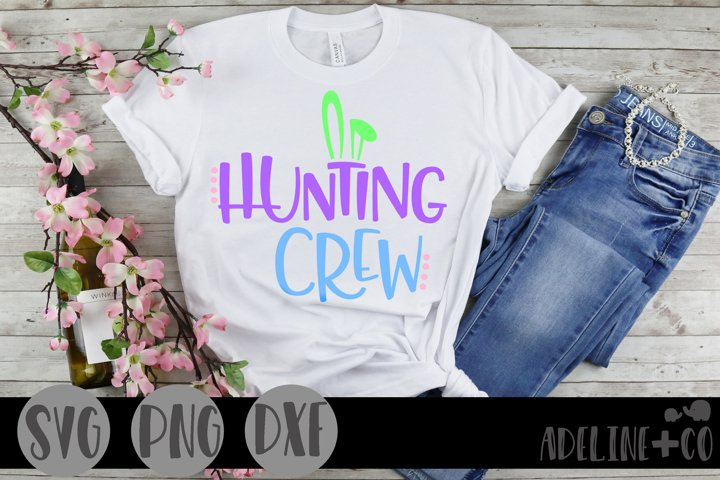 Hunting crew, SVG, PNG, DXF, Easter