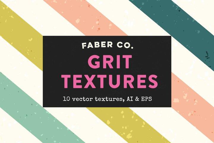 Vintage Grit Vector Textures