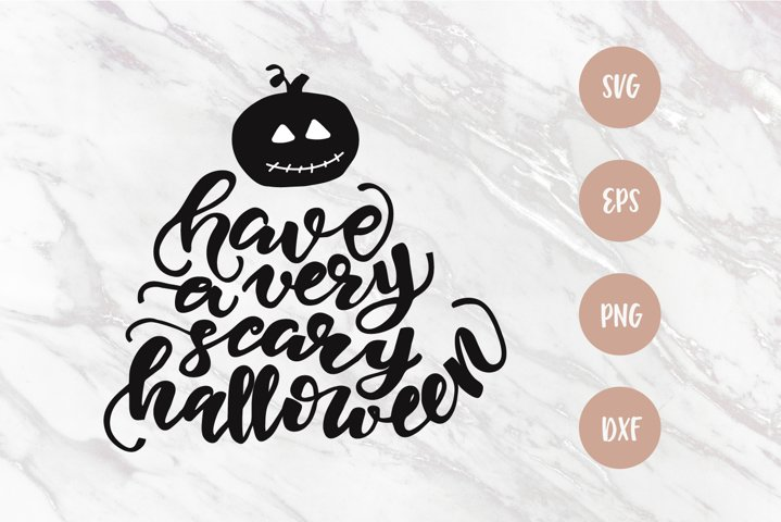 Halloween saying SVG, Lettering quote, cut file, PNG