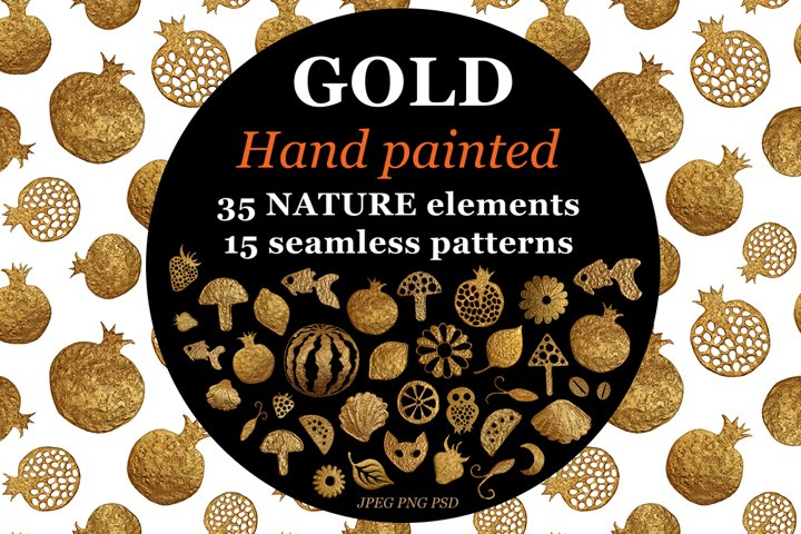 GOLD NATURE objects