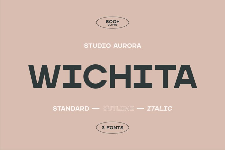 Wichita - Display Sans Serif Font