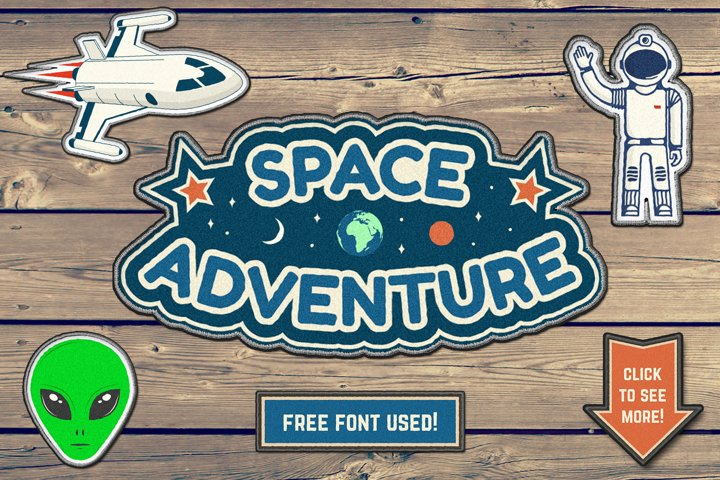 Space Adventure Patches