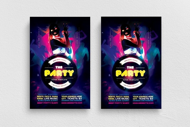 The Party Flyer Template