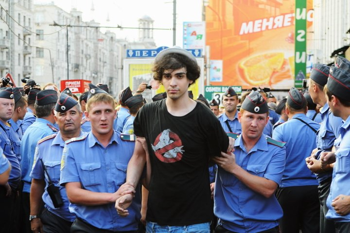 Freedom,democracy,Russia,Moscow,police, power,ghost catchers